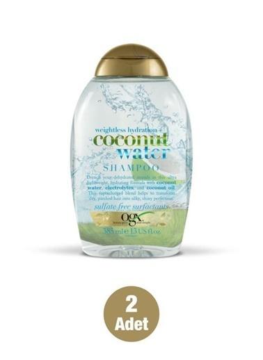 Organix Organix Coconut Water Saç Bakım Şampuanı 385 Ml X2 Adet Renksiz